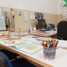 Pracovňa školskej špeciálnej pedagogičky
