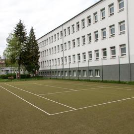 Tenisový kurt na výučbu tenisu a voľnočasové aktivity
