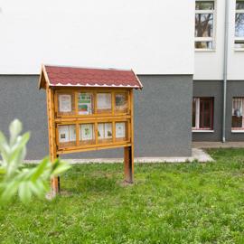 Info tabuľa na výučbu prírodovedy, prvouky, vlastivedy-zrealizované z projektu Nadácie Volkswagen Slovakia